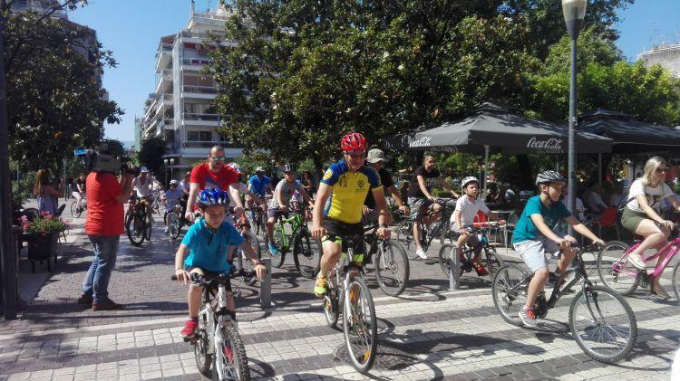 Αγρίνιο – Παγκόσμια Ημέρα Ποδηλάτου: Μεγάλη συμμετοχή στην ποδηλατοδρομία (ΔΕΙΤΕ ΦΩΤΟ)