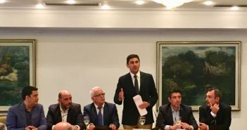 Αυγενάκης σε στελέχη της ΝΔ από την Δυτική Ελλάδα: Μνημείο διοικητικής ανεπάρκειας ο «Κλεισθένης Ι» (ΦΩΤΟ)