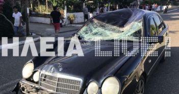 Δυτική Ελλάδα: Σοβαρό τροχαίο στην Μυρτιά Ηλείας – Άλογο έπεσε σε αυτοκίνητο με έγκυο! (ΦΩΤΟ)