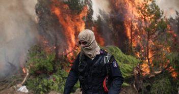 Ισχυρές δυνάμεις της Πυροσβεστικής από τη Δυτική Ελλάδα στις φωτιές της Αττικής
