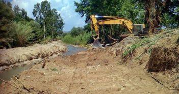 Εργασίες για καθαρισμό ρεμάτων και ποταμών της Αιτωλοακαρνανία