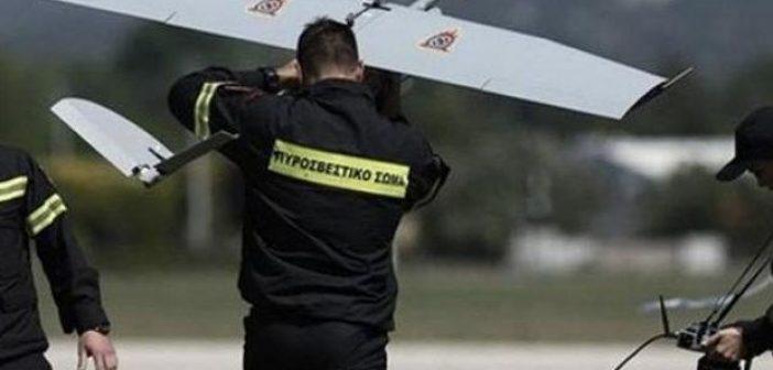 Το drone για την πυροπροστασία της Στροφυλιάςστην έκθεση Patras IQ