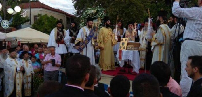 Θέρμο: Κορυφώθηκαν οι λατρευτικές εκδηλώσεις για τον Άγιο Κοσμά