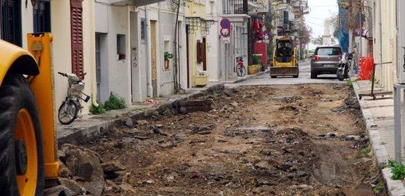 Αγρίνιο: Διακοπή κυκλοφορίας στην οδό Μακρή λόγω εργασιών