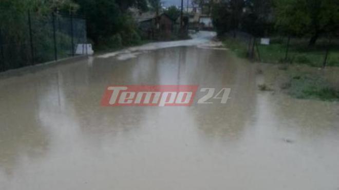 """Δυτική Ελλάδα: """"Βιβλική"""" καταστροφή στην Οβρυά – Σοβαρά προβλήματα από τον κατακλυσμό (ΔΕΙΤΕ ΦΩΤΟ)"""