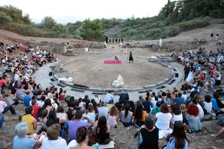 Στο Αρχαίο Θέατρο Στράτου ολοκληρώθηκε η «διαδρομή» του ΔΗ.ΠΕ.ΘΕ. Αγρινίου στα πέντε αρχαία θέατρα της Αιτωλοακαρνανίας (ΔΕΙΤΕ ΦΩΤΟ)