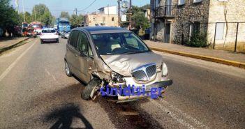 Σφοδρή σύγκρουση οχημάτων στην Κυψέλη Αγρινίου – Τραυματίστηκε υπάλληλος του ΔΕΔΔΗΕ (ΔΕΙΤΕ ΦΩΤΟ)