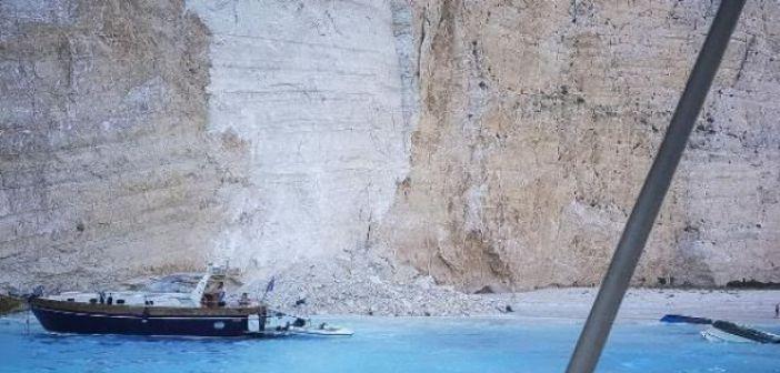 """Ζάκυνθος: Ανοίγει υπό όρους η παραλία """"Ναυάγιο"""""""