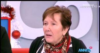 """Φιλόλογος από τη Βόνιτσα στην Αννίτα Πάνια: """"Ήμουν άθεη και προκλητικά ασεβής – Μου εμφανίστηκε η Παναγία και έκανε το παιδί μου καλά"""" (ΔΕΙΤΕ VIDEO)"""