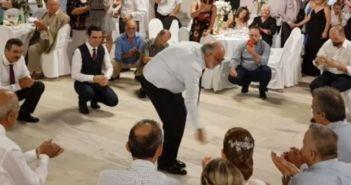 Το ζεϊμπέκικο του Κουρουμπλή σε γάμο στην Πρέβεζα (ΔΕΙΤΕ VIDEO + ΦΩΤΟ)