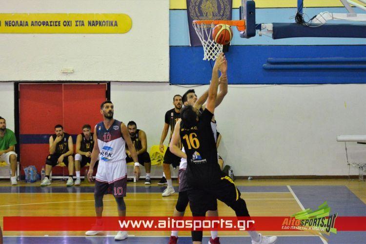 Α2 μπάσκετ: Ήττα του Χαρίλαου Τρικούπη στο Πευκοχώρι