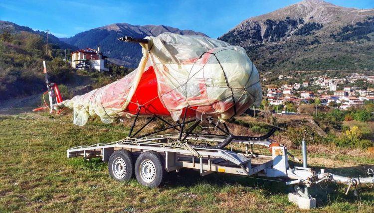 Στο Καρπενήσι βρέθηκε το κλεμμένο ελικόπτερο από το αεροδρόμιο του Μεσολογγίου! (ΔΕΙΤΕ ΦΩΤΟ)