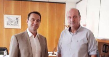 Δυτική Ελλάδα: Επίσκεψη Κωνσταντίνου Μητρόπουλου στον Πρόεδρο του ΕΛΓΑ (ΔΕΙΤΕ ΦΩΤΟ)