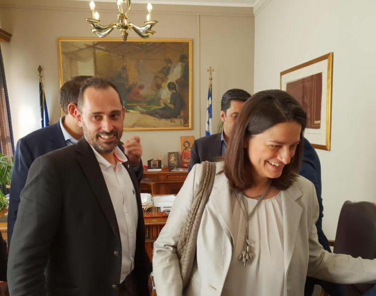 Η ΝΟΔΕ Αιτωλοακαρνανίας ΝΔ για την επίσκεψη της Νίκης Κεραμέως (ΔΕΙΤΕ ΦΩΤΟ)