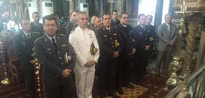 Αγρίνιο: Η Αστυνομία τίμησε τον προστάτη της Άγιο Αρτέμιο (ΔΕΙΤΕ ΦΩΤΟ)