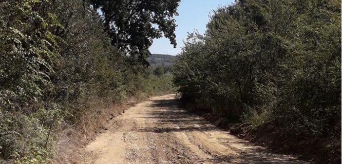 Εργασίες αγροτικής οδοποιίας στις Κοινότητες Σταμνάς, Αγίου Ηλία και Χρυσοβεργίου (ΔΕΙΤΕ ΦΩΤΟ)