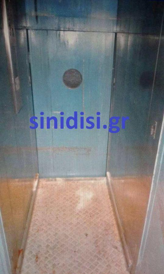 Το μοιραίο ασανσέρ όπου βρέθηκε αναίσθητη η 20χρονη Αγρινιώτισσα Αλέκα Τσιλιγιάννη (ΔΕΙΤΕ ΦΩΤΟ)