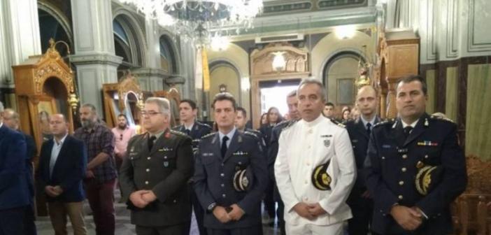 Γιόρτασαν τον προστάτη τους και οι αστυνομικοί του Μεσολογγίου (ΦΩΤΟ)