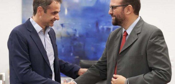 Συνάντηση του Περιφερειάρχη, Ν. Φαρμάκη με τον Πρωθυπουργό, Κ. Μητσοτάκη