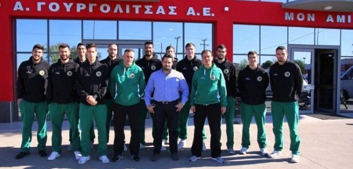 Mπάσκετ: Επίσκεψη Α.Ο. Αγρινίου στους χορηγούς της ομάδας (ΔΕΙΤΕ ΦΩΤΟ)