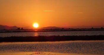Το «μαγευτικό» μεσολογγίτικο ηλιοβασίλεμα (ΔΕΙΤΕ ΦΩΤΟ)