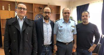 Επίσκεψη της Ένωσης Αστυνομικών Υπαλλήλων Ακαρνανίας στην Περιφερειακή Διεύθυνση Δυτικής Ελλάδας (ΦΩΤΟ)