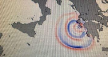Ιόνιο: Καρέ καρέ η πορεία που έκανε το τσουνάμι από τη Ζάκυνθο στην Ιταλία – Εφτασε σε 56 λεπτά (ΔΕΙΤΕ VIDEO)
