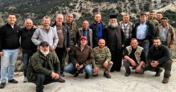 Εγκαίνια στο καταφύγιο του κυνηγετικού συλλόγου Βόνιτσας στα Ακαρνανικά (ΔΕΙΤΕ ΦΩΤΟ)