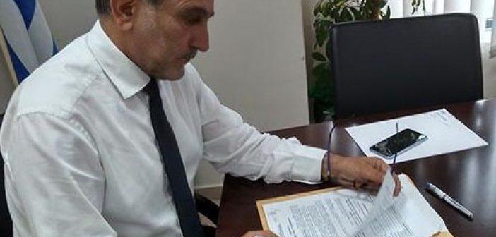 Νέα έργα ύψους 2.500.000 ευρώ στην Αιτωλοακαρνανία – Υπεγράφησαν οι συμβάσεις από τον Απόστολο Κατσιφάρα (ΔΕΙΤΕ VIDEO)