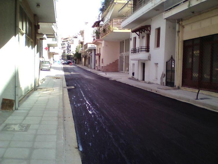 Δεύτερη παράταση στην ανακατασκευή της οδού Γρίβα