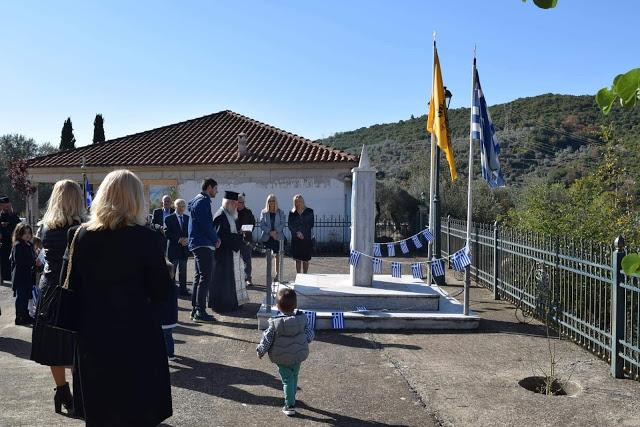 """Πως γιορτάστηκε η Επέτειος του """"ΟΧΙ"""" στην Ποταμούλα (ΦΩΤΟ)"""