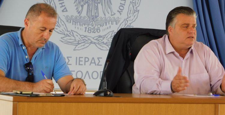 Μεσολόγγι: Αντιπλημμυρική, αντισεισμική προστασία και πρόληψη τα θέματα συζήτησης στη συνεδρίαση του Τοπικού Συντονιστικού Οργάνου Πολιτικής Προστασίας (ΔΕΙΤΕ ΦΩΤΟ)