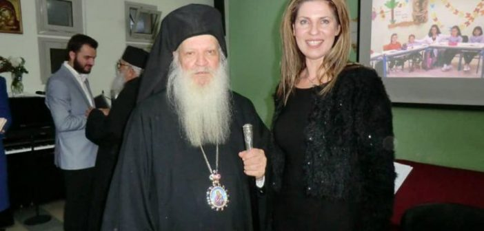 Βουλιαράτες Βορείου Ηπείρου: Έψαλλε στην επίσημη δοξολογία της 28ης Οκτωβρίου η Αγρινιώτισσα Χρυσούλα Τασολάμπρου από το Αγρίνιο (ΔΕΙΤΕ ΦΩΤΟ)