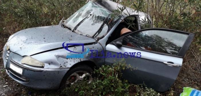 Δυτική Ελλάδα: Τρεις ποδοσφαιριστές τραυματίες σε τροχαίο στην Πατρών – Πύργου! (ΔΕΙΤΕ ΦΩΤΟ)