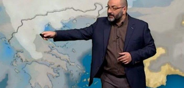 Σάκης Αρναούτογλου: Πότε αλλάζει ο καιρός (VIDEO)