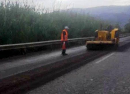 Αγρίνιο: Μποτιλιάρισμα στην Εθνική Οδό λόγω εργασιών (ΔΕΙΤΕ ΦΩΤΟ)