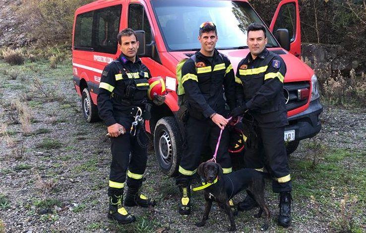 Απεγκλωβισμός σκύλου στην Ορεινή Ναυπακτία (ΔΕΙΤΕ ΦΩΤΟ)