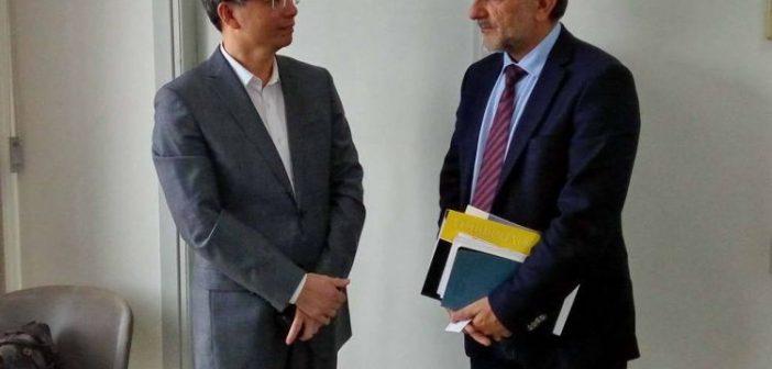 Στην Περιφέρεια Δυτικής Ελλάδας αποστολή από την Κίνα – Συζήτηση για οικονομική συνεργασία (ΔΕΙΤΕ ΦΩΤΟ)
