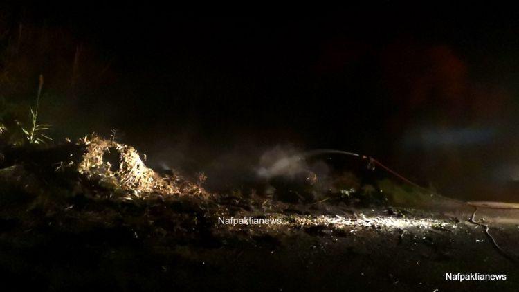 Ναύπακτος: Μικρής έκτασης φωτιά στις εκβολές της Βαριάς – Άμεση επέμβαση της Π.Υ. (ΔΕΙΤΕ ΦΩΤΟ + VIDEO)