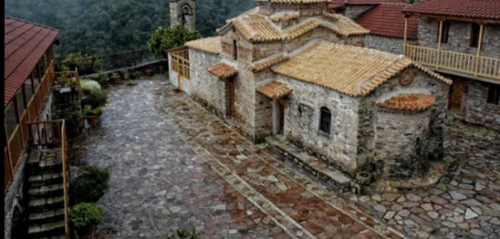 Ιερά Πανήγυρις στην Μονή Εισοδίων της Θεοτόκου Μυρτιάς Τριχωνίδος