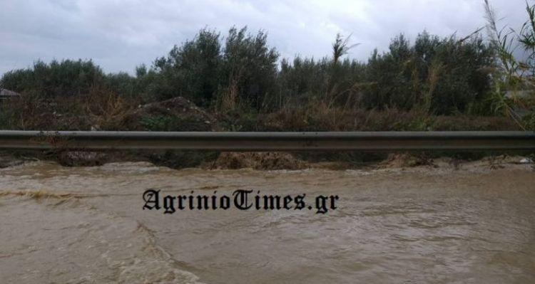 Πλημμύρισε χείμαρρος στο Κεφαλόβρυσο (ΔΕΙΤΕ ΦΩΤΟ)