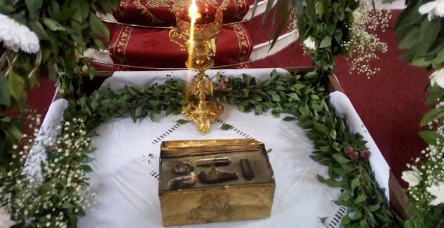 Γιορτάζει ο Άγιος Γεώργιος στο Βασιλόπουλο Ξηρομέρου – Σε προσκύνημα ιερό λείψανο του Αγίου (ΔΕΙΤΕ ΦΩΤΟ)