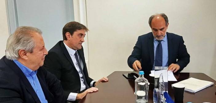 Αμφιλοχία: Επένδυση 30 εκατομμυρίων ευρώ απ' την Knauf – Συνάντηση με τον Περιφερειάρχη Απόστολο Κατσιφάρα (ΔΕΙΤΕ ΦΩΤΟ)