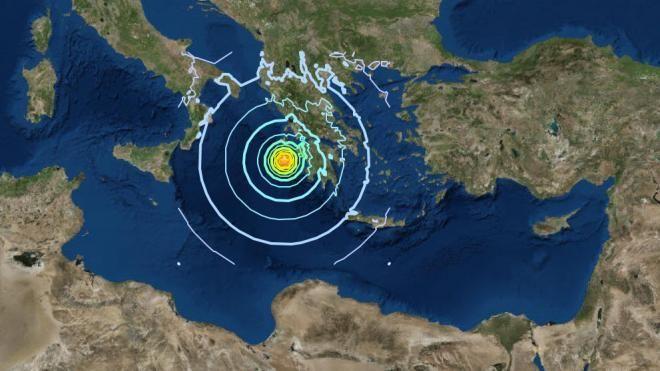 Ιόνιο: Σεισμική δόνηση τα ξημερώματα στη Ζάκυνθο