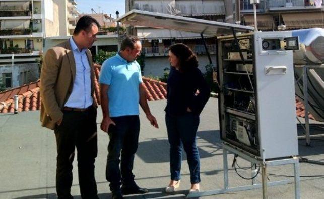 Σταθμός Μέτρησης Ατμοσφαιρικής Ρύπανσης εγκαταστάθηκε στο Αγρίνιο (ΦΩΤΟ)
