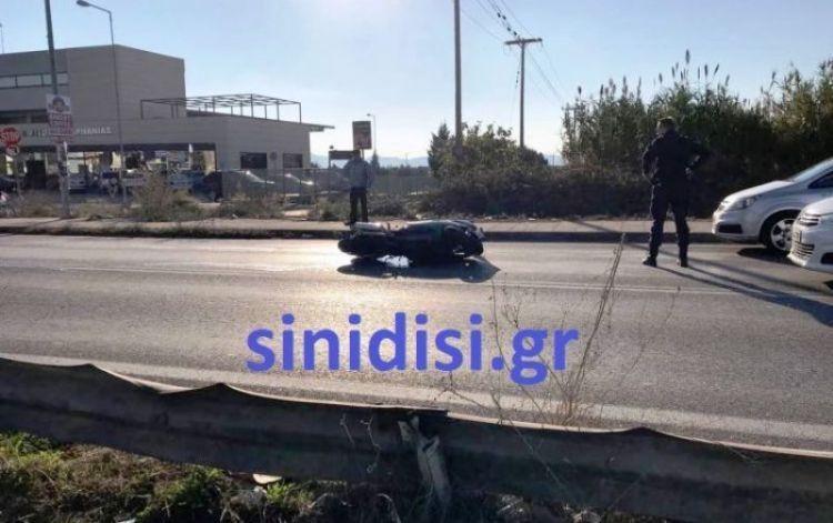Αγρίνιο: Σοβαρό τροχαίο στην Εθνική Οδό, στο ύψος του ΚΤΕΛ – Στη ΜΕΘ νοσηλεύεται 56χρονος μοτοσυκλετιστής (ΔΕΙΤΕ ΦΩΤΟ)