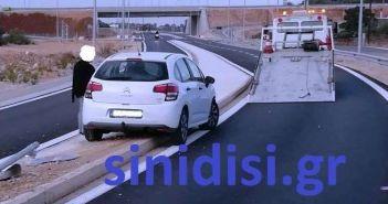 Άγιο είχε γυναίκα οδηγός στη Βόνιτσα! (ΔΕΙΤΕ ΦΩΤΟ)