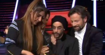 The Voice: Η τραγουδίστρια που έκανε μια αγκαλιά Μαραβέγια, Ρουβά, Παπαρίζου, Μουζουράκη (ΔΕΙΤΕ VIDEO)