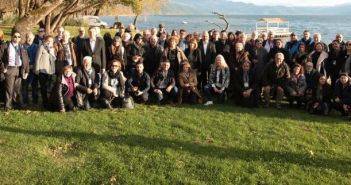 Tα μέλη της Ένωσης Ευρωπαίων Δημοσιογράφων στο Αγρίνιο και τη λίμνη Τριχωνίδα (ΔΕΙΤΕ ΦΩΤΟ)
