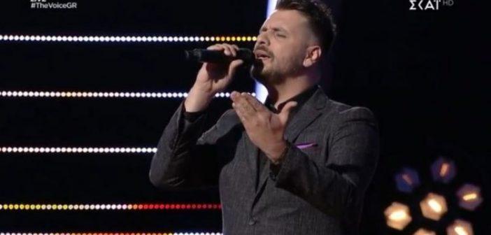 The Voice: Με 62% έχει… πολλά να δώσει ο Αλέξης Πρεβενάς από την Ορεινή Ναυπακτία (ΔΕΙΤΕ ΦΩΤΟ + VIDEO)